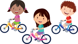 Kids on Bikes at the Pediatric Dentist Serving Howell, Jackson and Freehold, NJ