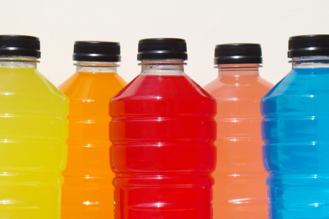Sports drinks are not good for your teeth